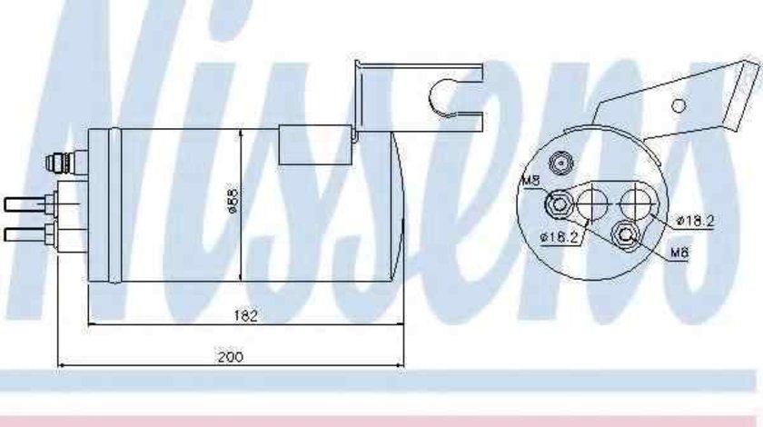 Filtru Uscator Aer Conditionat CHRYSLER PT CRUISER (PT_) NISSENS 95368