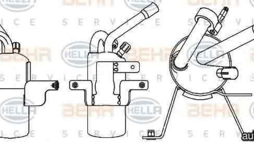 Filtru Uscator Aer Conditionat FORD TRANSIT CONNECT P65 P70 P80 HELLA 8FT 351 335-321