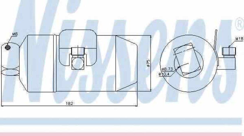 Filtru Uscator Aer Conditionat OPEL ASTRA F combi 51 52 NISSENS 95027