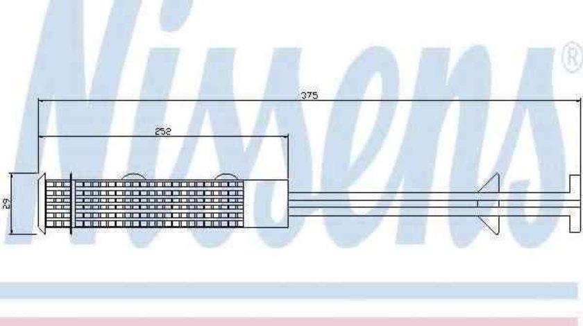 Filtru Uscator Aer Conditionat OPEL ASTRA G caroserie (F70) NISSENS 95403