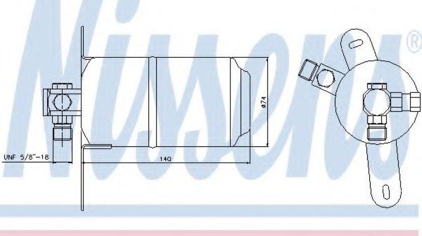Filtru uscator clima / aer conditionat MERCEDES E-CLASS Combi (S210) (1996 - 2003) NISSENS 95184 - produs NOU