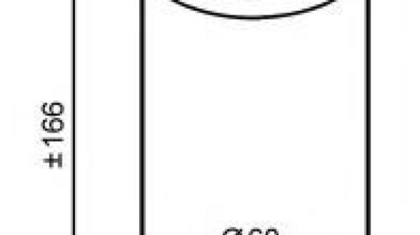 Filtru uscator clima / aer conditionat RENAULT MEGANE I Break (KA0/1) (1999 - 2003) NRF 33120 produs NOU