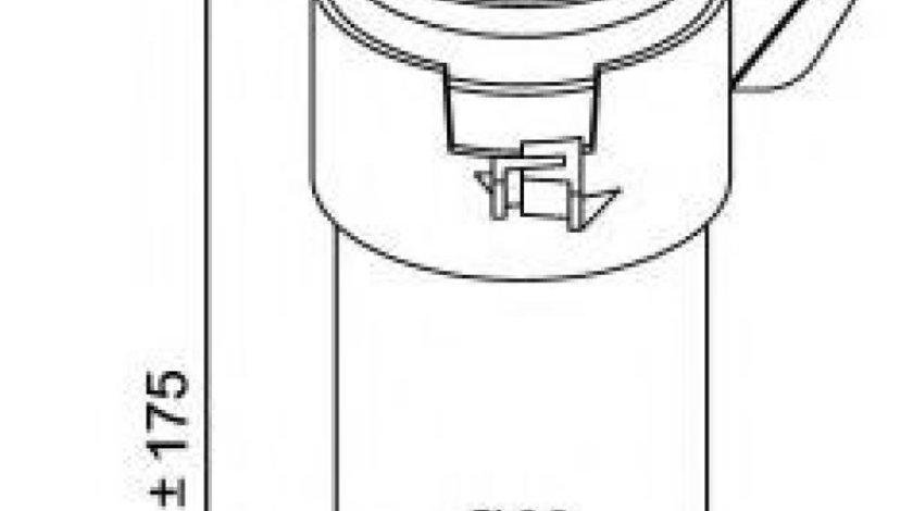 Filtru uscator clima / aer conditionat RENAULT MEGANE I Break (KA0/1) (1999 - 2003) NRF 33200 produs NOU