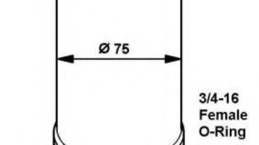 Filtru uscator clima / aer conditionat VW VENTO (1H2) (1991 - 1998) NRF 33061 produs NOU