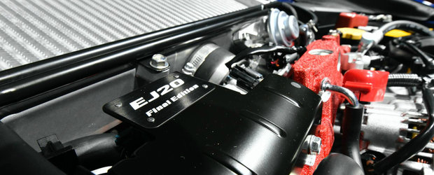 Final de cariera pentru un motor legendar. SUBARU isi ia adio de la EJ20 cu 555 de WRX-uri speciale