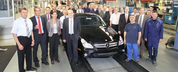 Final de drum pentru actualul Mercedes CLS