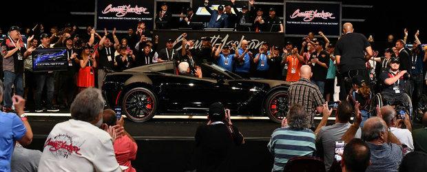 Finalul unei ere. El a cumparat ultimul CORVETTE cu motor amplasat frontal cu 2.7 milioane de dolari