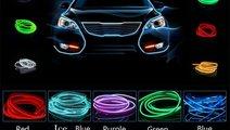 Fir neon electroluminiscent (EL-WIRE) cu manseta (...