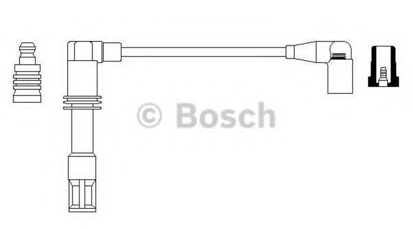 Fisa bujii VW POLO CLASSIC (6KV2) (1995 - 2006) BOSCH 0 986 357 726 produs NOU