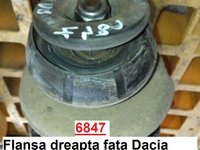 Flansa dreapta fata Dacia Logan