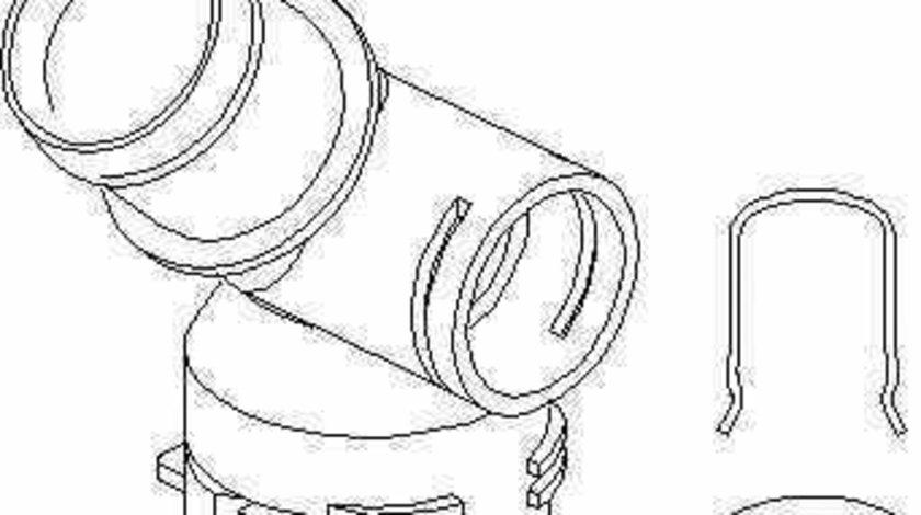 Flansa lichid racire VW GOLF V 1K1 TOPRAN 112 399