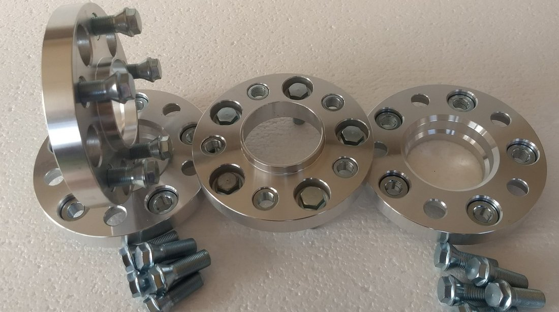 Flanse Distanțiere BMW de 20 mm sau 25 mm cu prindere dubla