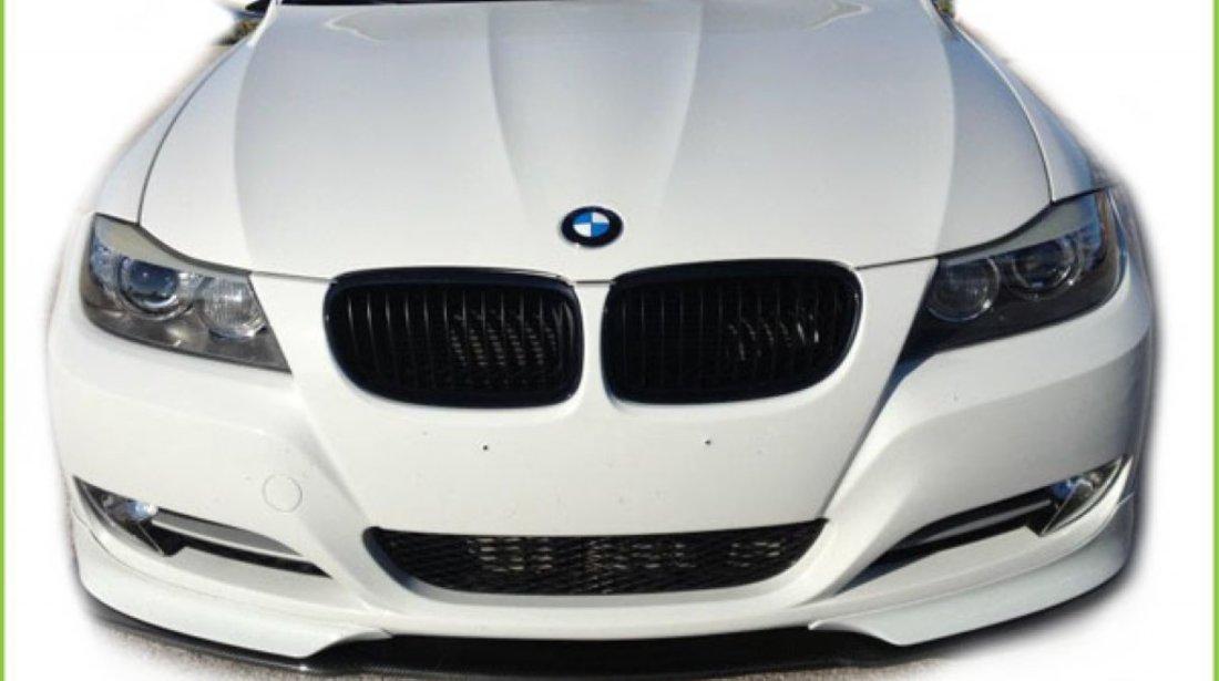 Flapsuri splitere prelungiri bara fata BMW e90 si e91 Non facelift si Facelift LCI