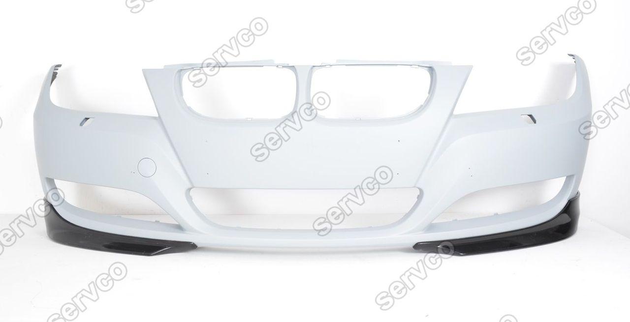 Flapsuri splitere prelungiri bara fata BMW E90 E91 LCI 2009 2010 2011 2012 ver6