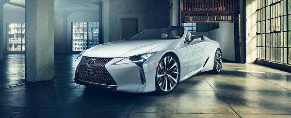 Foarte posibil sa devina cea mai frumoasa decapotabila de pe piata. Lexus lanseaza un LC Cabrio de serie