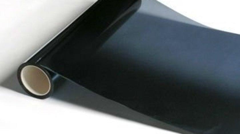 Folie geamuri auto omologata neprofesionala 5% transparenta ( Low Cost )