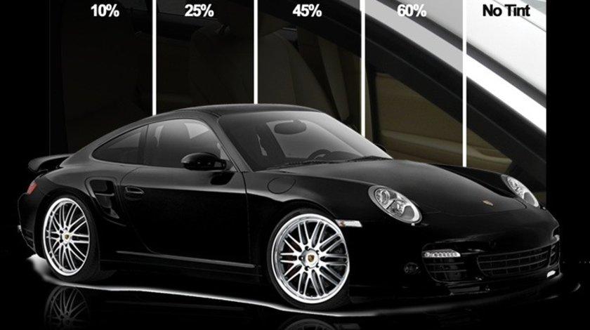 Folie geamuri auto omologata profesionala SolarZone 35% transparenta