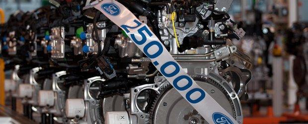 Ford a construit motorul cu numarul 250.000 la Craiova