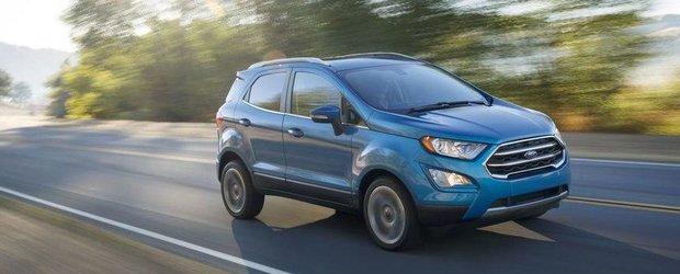 Ford a dezvelit noul EcoSport facelift. Modelul european va fi produs la Craiova