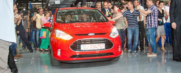 Ford a inaugurat productia modelului B-MAX la Craiova
