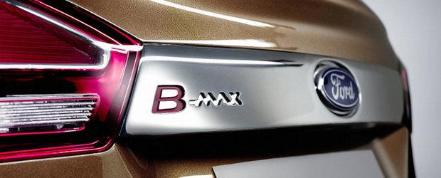 Ford a inceput sa produca motorul pentru modelul B-Max