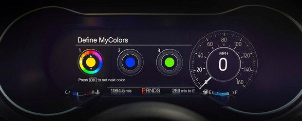Ford a indraznit sa puna aceste ceasuri pe noul Mustang. Cum arata restul masinii