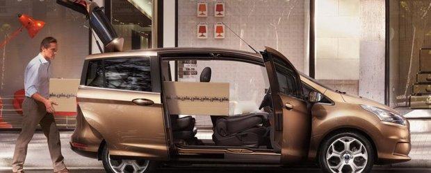 Ford B-Max, disponibil in Romania in luna septembrie