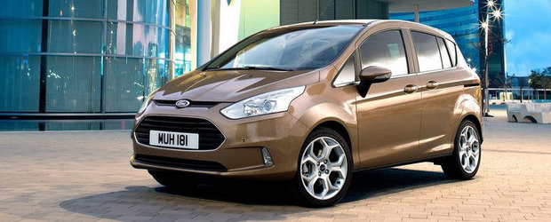 Ford B-Max incepe productia in 25 iunie
