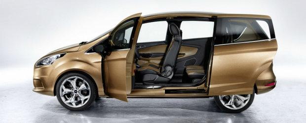 Ford B-Max incepe productia la Craiova in 2012, a confirmat seful Ford