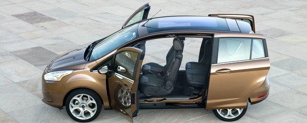 Ford B-MAX se vinde cel mai bine in Europa in segmentul sau