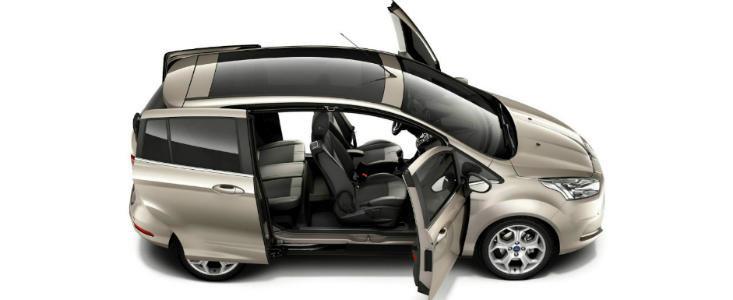 Ford B-Max va avea un consum de 4 litri la suta de kilometri