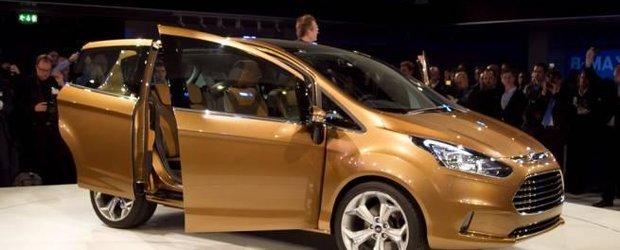 Ford B-Max va fi asamblat la Craiova. Transit Connect iese din productie