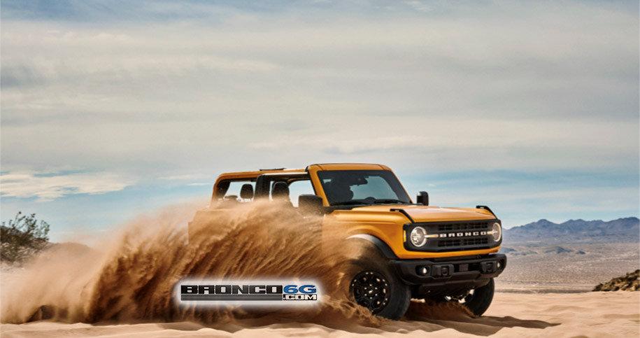 Ford Bronco - Prima poza