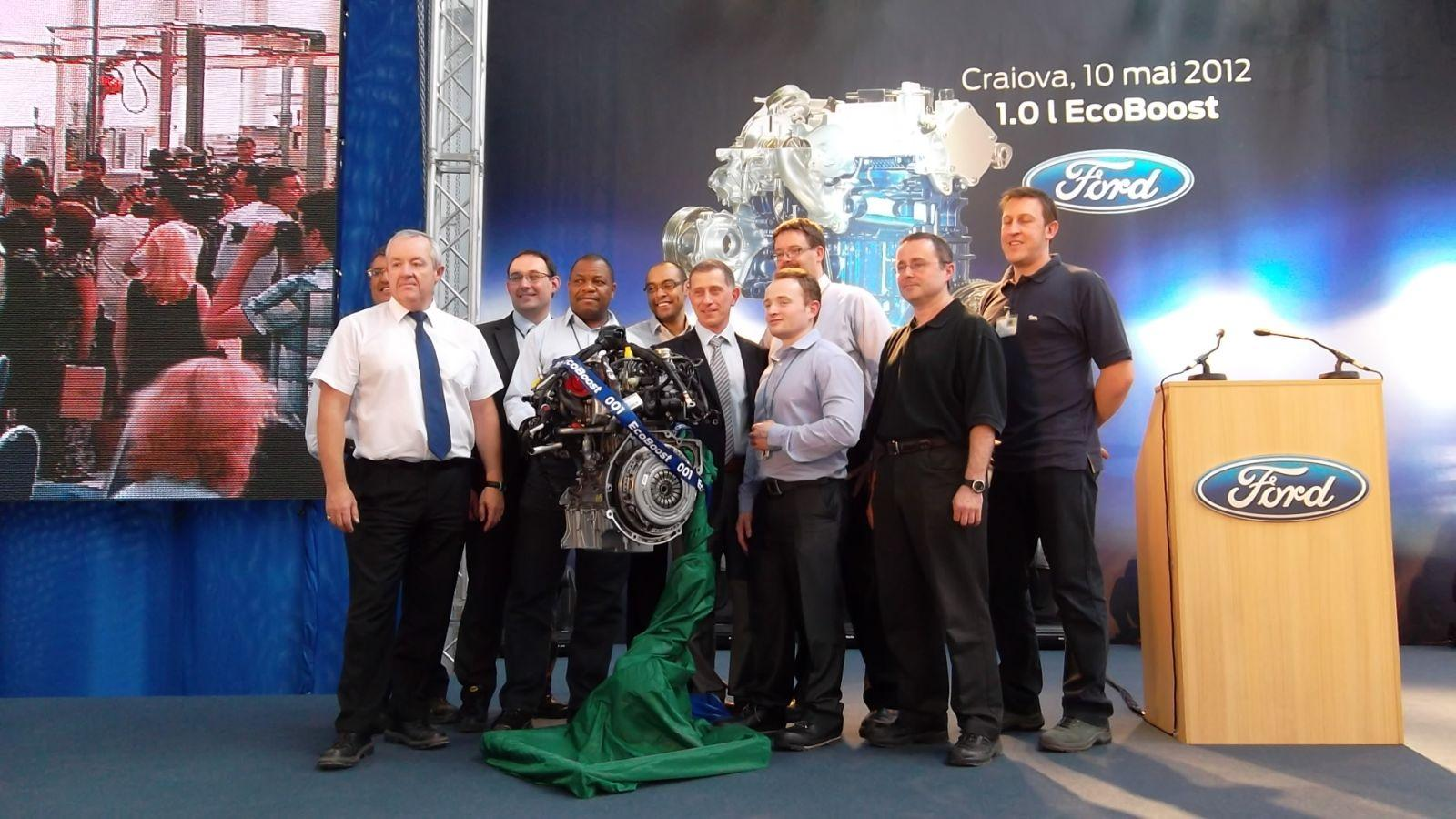 Ford da startul productiei de motoare la Craiova - Ford da startul productiei de motoare la Craiova