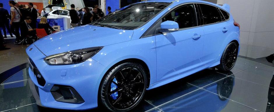 Ford demareaza productia noului Focus RS