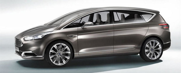 Ford dezvaluie noul S-MAX Concept