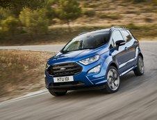 Ford EcoSport facelift- configuratie de Europa