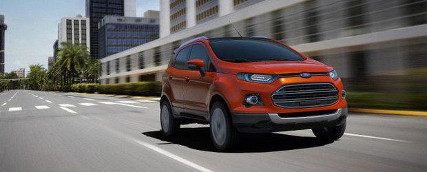 Ford EcoSport, imagini oficiale si detalii
