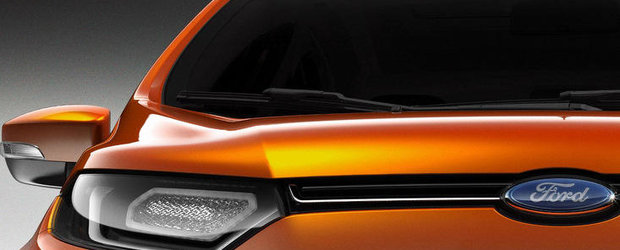 Ford EcoSport  - Primul teaser