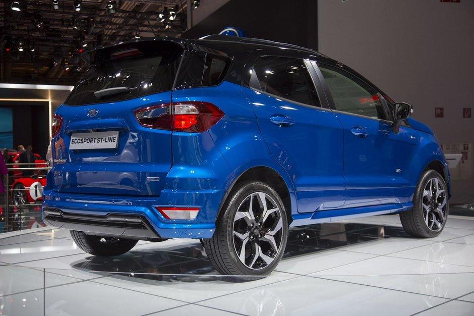Ford Ecosport ST-Line - Poze reale