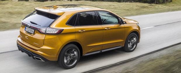 Ford Edge poate fi de acum achizionat si in Romania. Cat costa cel mai mare SUV al marcii disponibil in Europa?