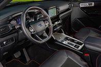 Ford Explorer ST cu tractiune spate
