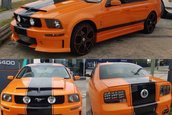 Ford Falcon transformat in Mustang