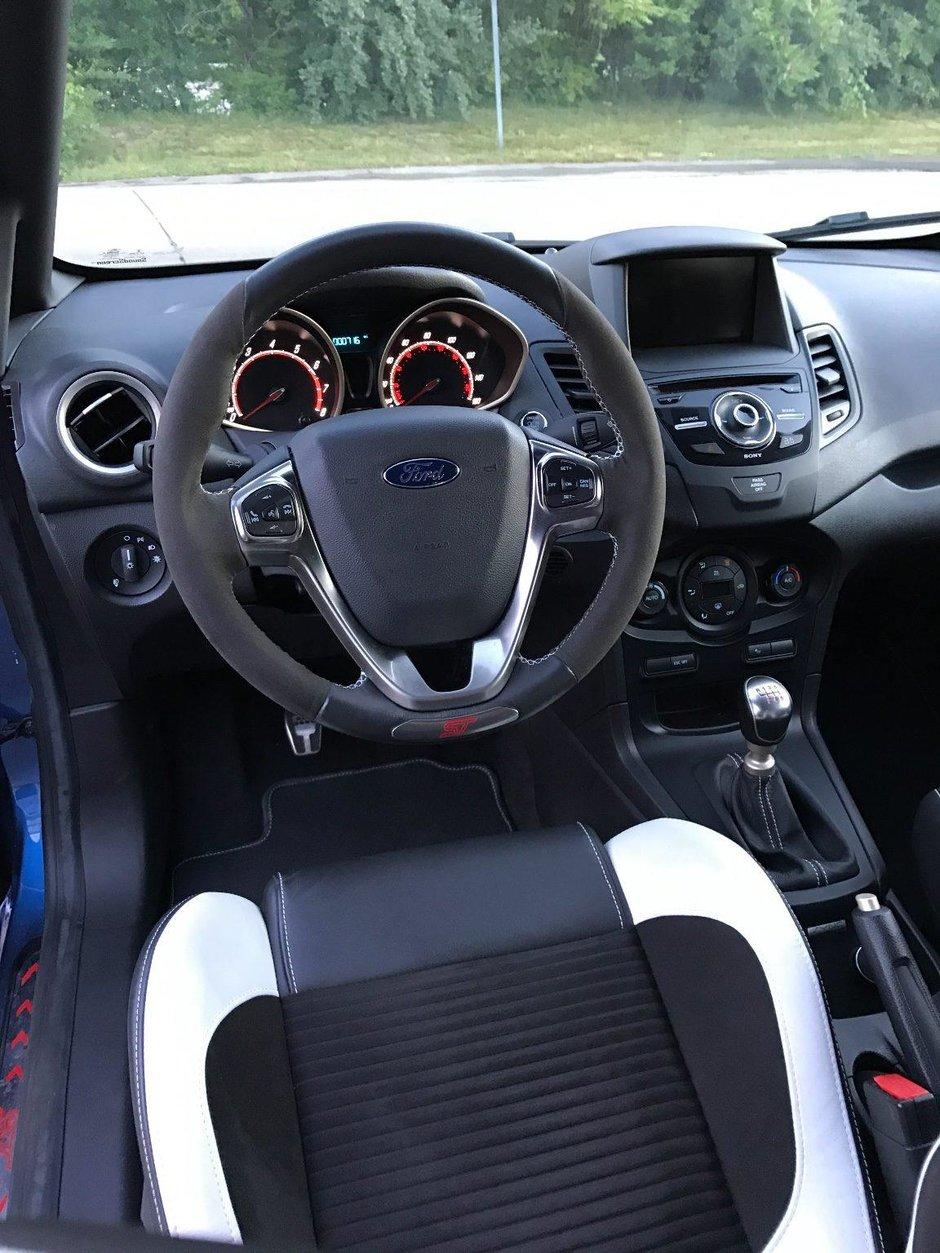 Ford Fiesta ST in Liquid Blue