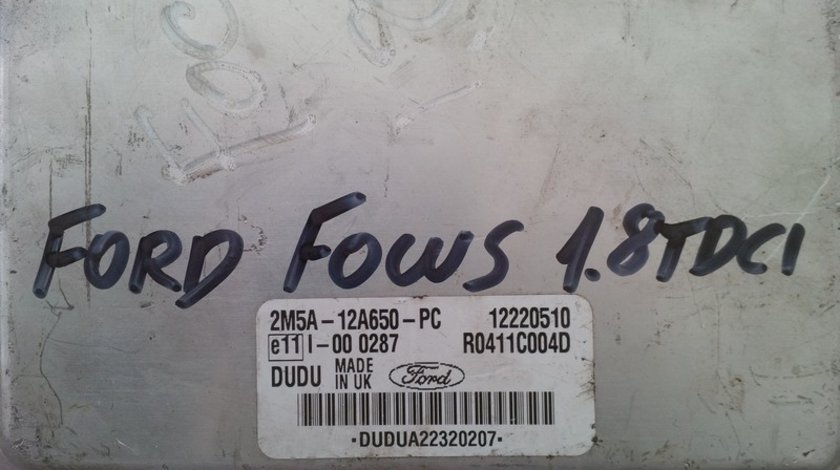 ford focus 1.8tdci 2M5A-12A650-PC DELPHI