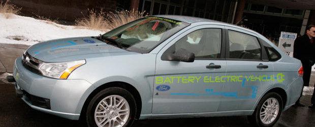 Ford Focus electric, de astazi produs in Germania