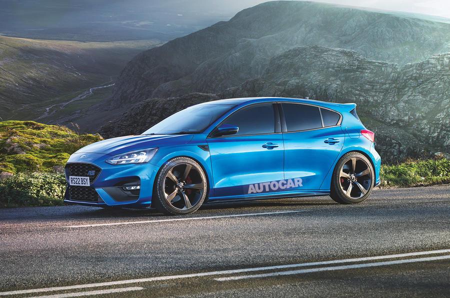 Ford Focus RS - Ipoteza de design