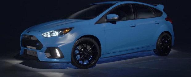 Ford Focus RS ni se arata din nou, de-aceasta data in versiunea americana