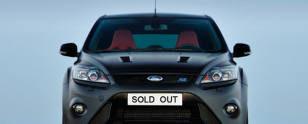 Ford Focus RS500 - Sold Out in 12 ore