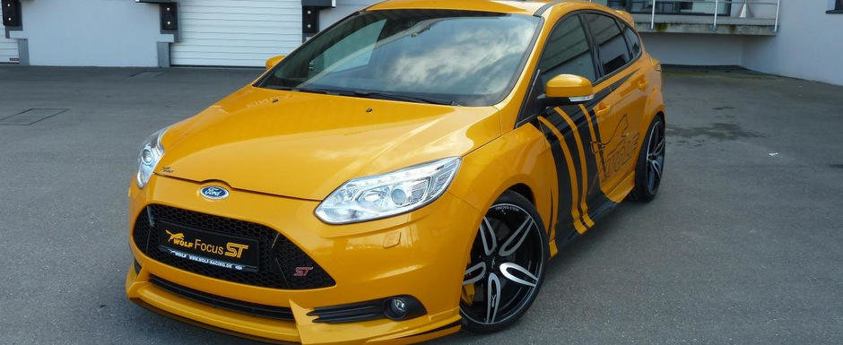 Ford Focus ST by Wolf Racing - Sa fie cu 285, 300 sau 370 cai putere?